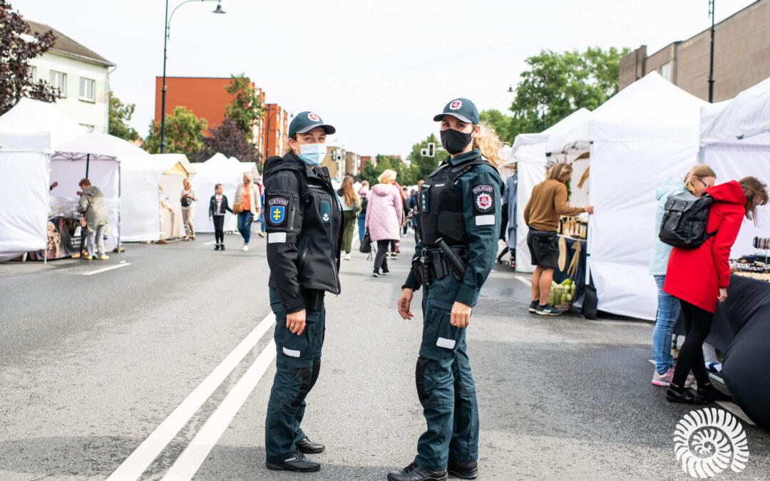 Saugumą užtikrins daugiau policijos pareigūnų